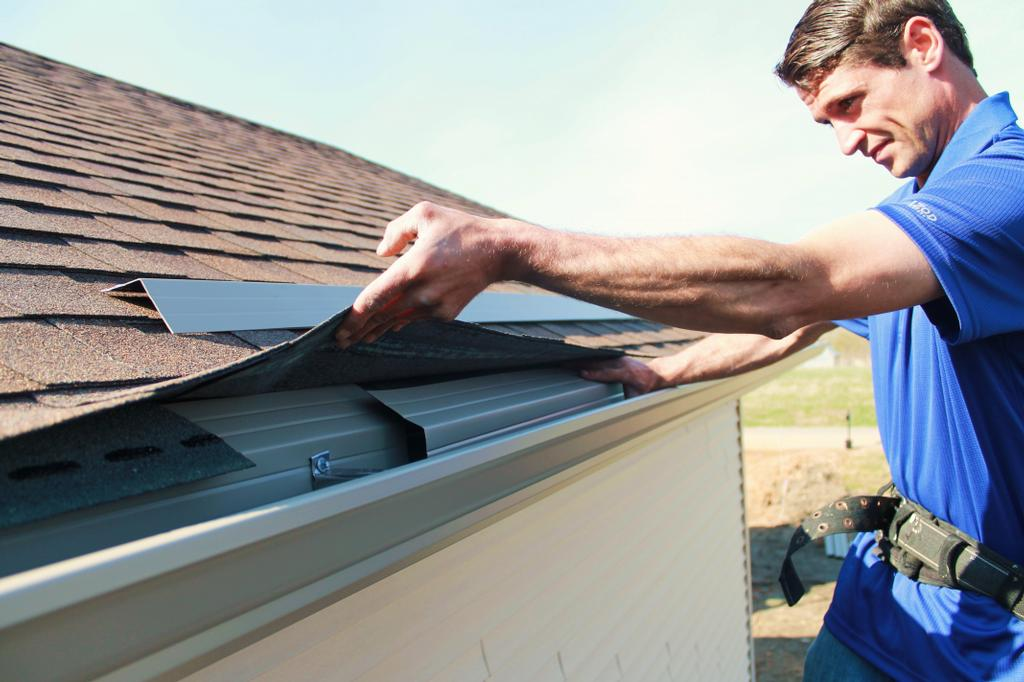 New Gutter Installation in Milwaukee