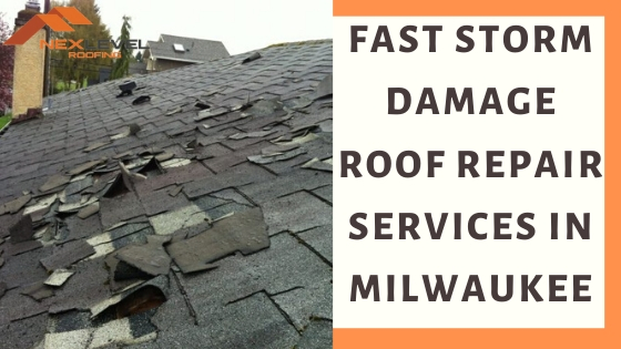 4 - Fast Storm Damage Roof Repair Services in Milwaukee