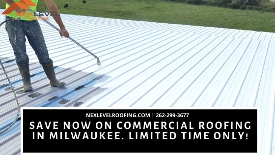 35 - Save Now on Commercial Roofing in Milwaukee. Limited Time Only!