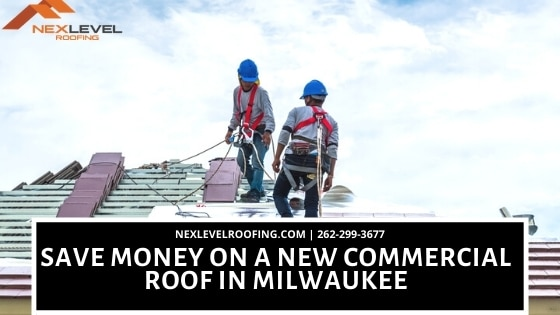new commercial roof in Milwaukee