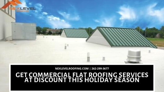 commercial flat roofing services at a discount