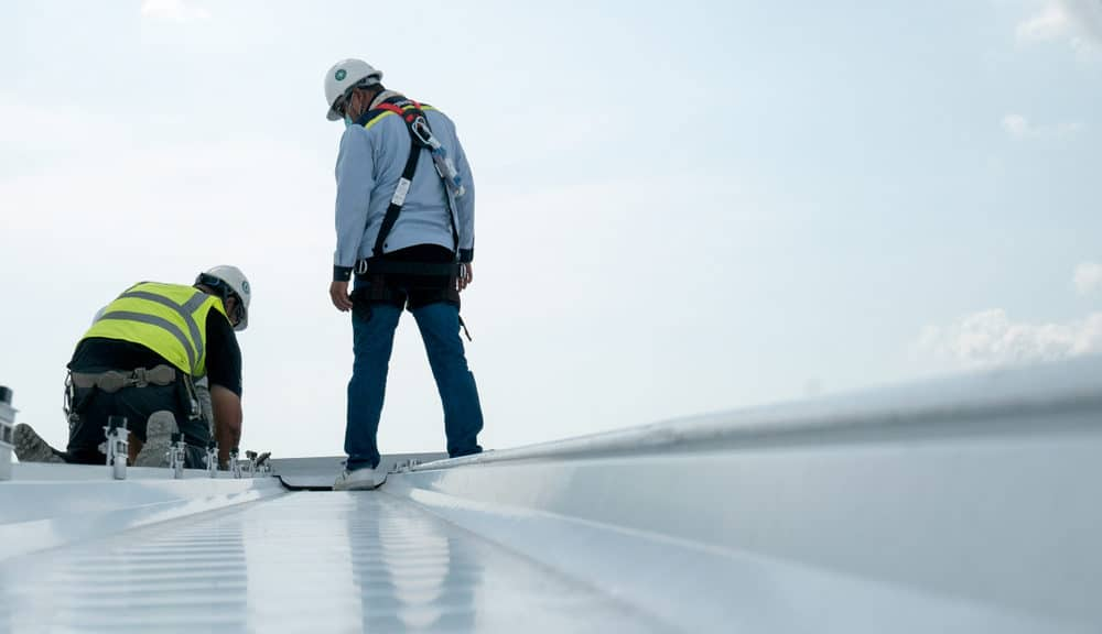 commercial roofing inspection