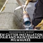 gutter installation, repair and maintenance