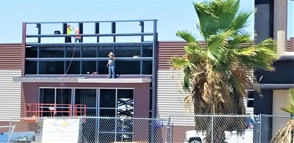 commercial roof repair and maintenance