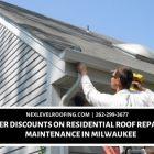 roof repairs and maintenance in Milwaukee